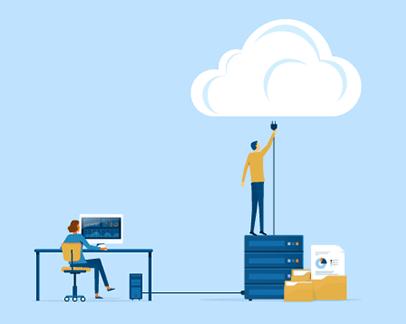 Salesforce está basado en la nube