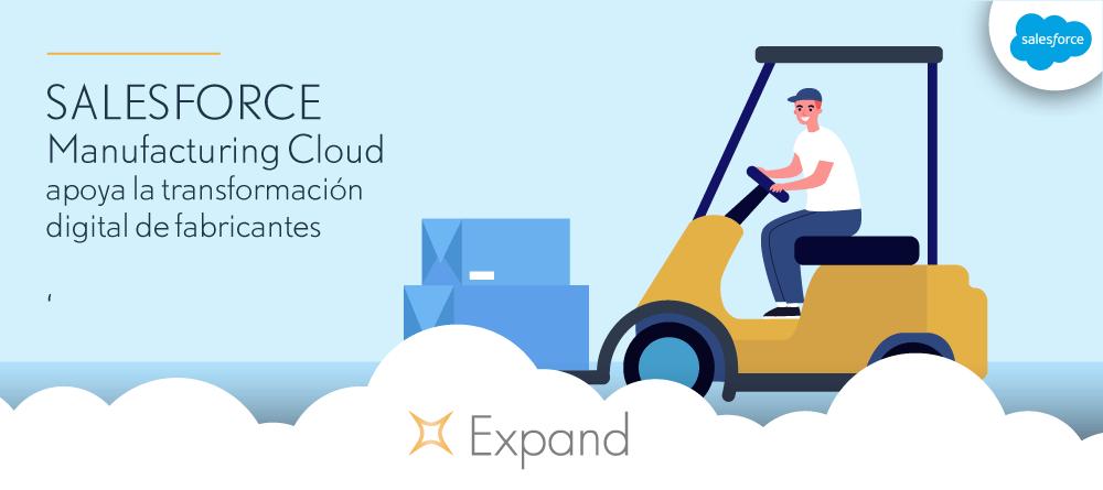 Salesforce Manufacturing Cloud apoya la transformación digital de fabricantes