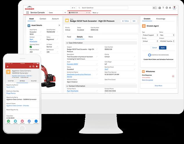 Salesforce Manufacturing cloud permite que las distintas áreas del negocio se comuniquen