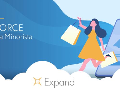 Salesforce para venta minorista:  Aumenta tus ventas controlando la experiencia de compra de tus clientes