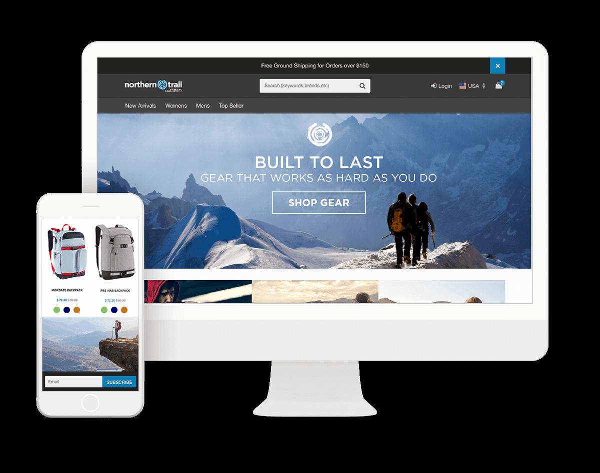 Ejemplo de tienda con Salesforce para venta minorista