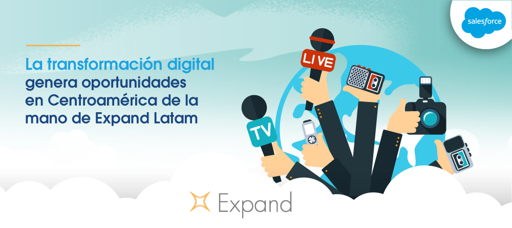 La transformación digital empresarial genera oportunidades en Centroamérica de la mano de Expand Latam