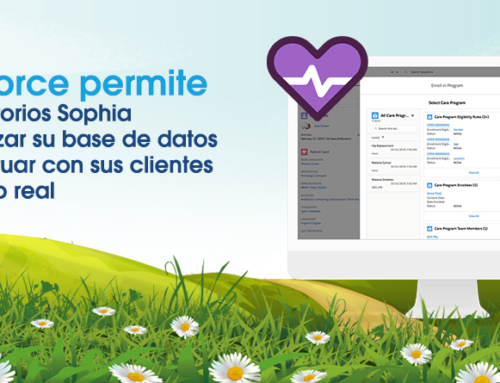 Salesforce permite a Laboratorios Sophia automatizar su base de datos e interactuar con sus clientes en tiempo real