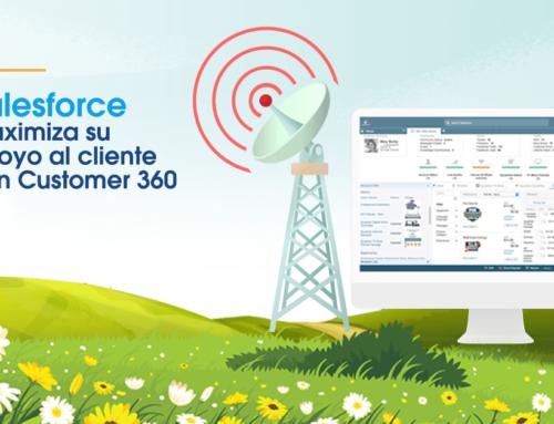 Salesforce maximiza su apoyo al cliente con Customer 360