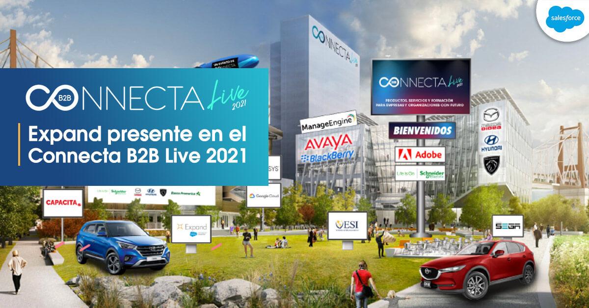 Expand participa en el Connecta Live 2021