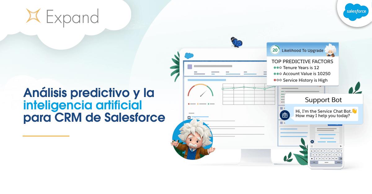 Analisis Predictivo y la Inteligencia Artificial de Salesforce CRM