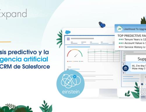 Inteligencia artificial para CRM y análisis predictivo de Salesforce